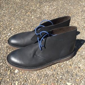 Clark's black ankle boots